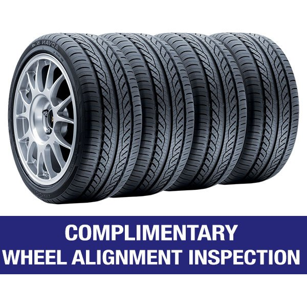 Complimentary Wheel Alignment Inspection
