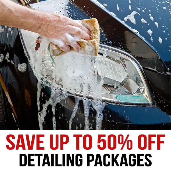 Detailing Packages (up to 50% off top package)